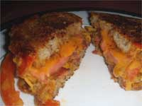 Bacon, Cheddar, and Tomato Grilled Cheese Sandwich Picture