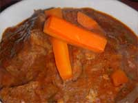 Click here to go to my recipe for Cajun, Beef Stew