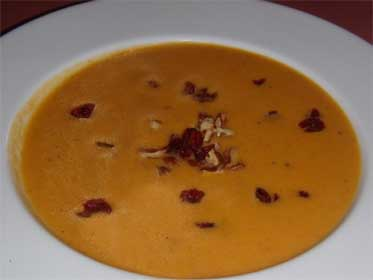 Butternut Squash and Apple Soup Picture
