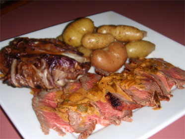 Cajun Grilled London Broil Picture