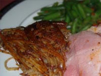 Rosti Potatoes Plated Picture