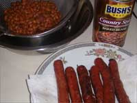 Cheddar Franks and Beans, Beans Picture