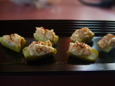 Pimento Cheese Stuffed Pickles Picture
