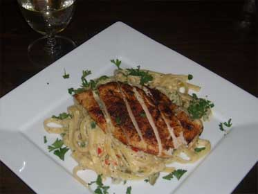 Blackend Chicken Alfredo Diablo Picture