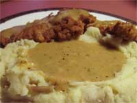 Click here to go to my recipe for Country Style, Chicken Gravy