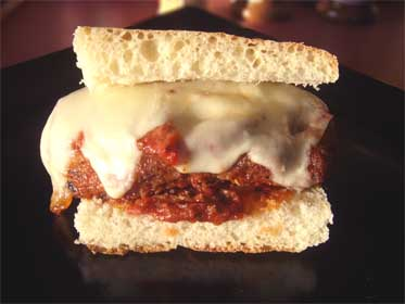 Chicken Parmesan Sandwich, Picture