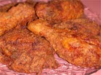 Click here to go to my recipe for Maple Fried Chicken