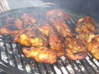 Jamaican Curried Chicken Thighs, Picture
