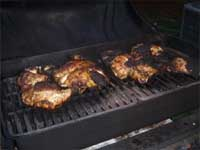 Jerked, Grilled, Whole Chicken, Picture