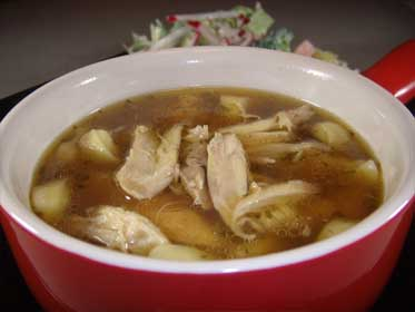Rustic Chicken Soup Picture