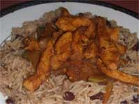 Click here to go to my recipe for Southwest Chicken and Rice