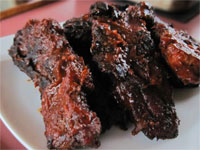 Smoked, Country Style, Pork Ribs , Picture