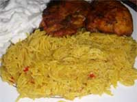 Click here to go to my recipe for Curried Rice