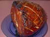 Orange Glazed, Baked Ham, Picture