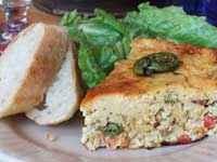 Click here to go to my recipe for Fiddlehead Fern Frittata