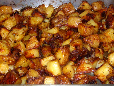 Garlic Roasted Potatoes, Picture
