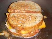 The Cooked Grilled Cheese Picture