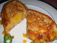 Click here to go to my recipe for Grilled Cheese Sandwich