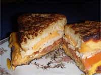 Turkey, Grilled Cheese Sandwich Picture