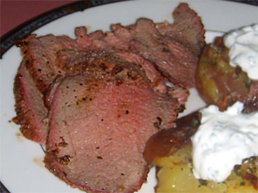 Click HERE to go my Recipe for Grilled, Eye Round Roast.