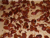 Chocolate Covered, Honey Pecans the Coated Pecans Picture