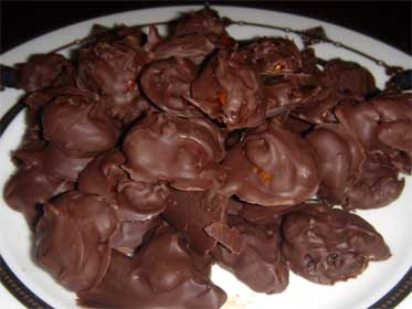 Chocolate Covered, Honey Pecans Picture