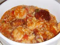 Click here to go to my recipe for Jambalaya