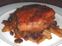 Click here to go to my recipe for Leftover, Grilled Pork Loin Chops