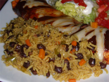 Southwest Style Rice with Beans, Picture