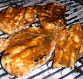 Jerked Chicken on the Grill Picture