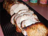 Click here to go to my recipe for Steakhouse Brined, Pork Loin Roast