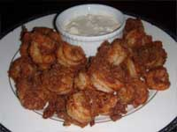 Cajun Style, Buffalo Shrimp Plated Picture