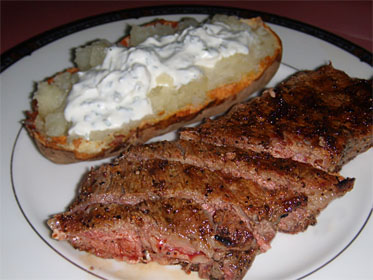 Grilled Sirloin Steaks, Picture