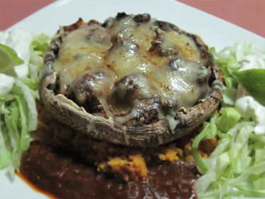 Spicy Shrimp Stuffed Portobellos Picture