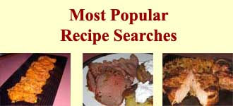Click here to view the top 3 recipe searches from last month.