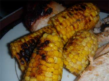 South West, Grilled, Corn on the Cob, Picture